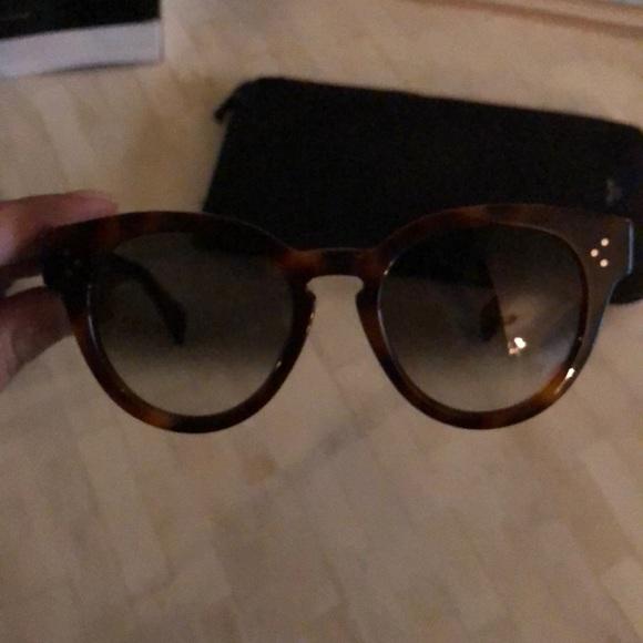 1dcebe9d303a Celine Accessories - Celine Thin Preppy Sunglasses